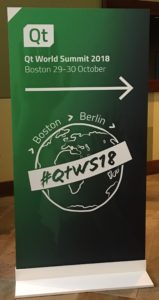 Qt World Summit, Qt World Summit 2018 Boston