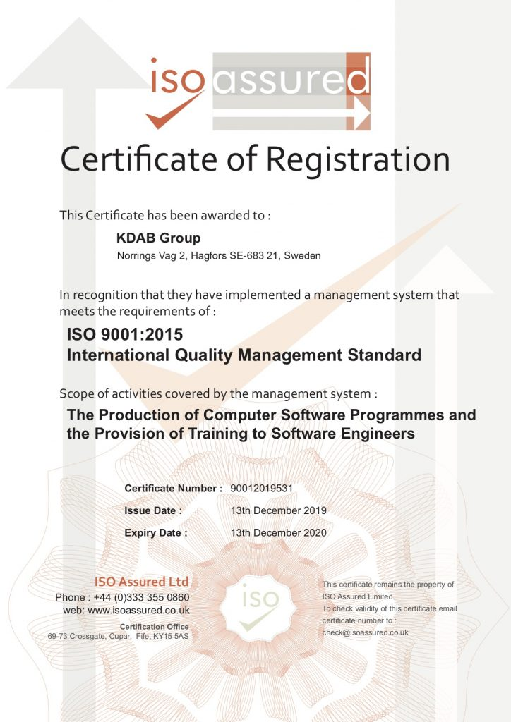 """, <span class=""""entry-title-primary"""">Quality matters <br>&#8211; KDAB is ISO 9001 certified</span> <span class=""""entry-subtitle"""">KDAB is the world's first ISO 9001 certified Qt consulting & development company</span>"""