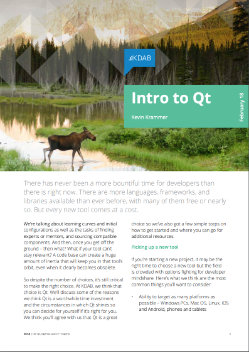 Download Introduction to Qt whitepaper