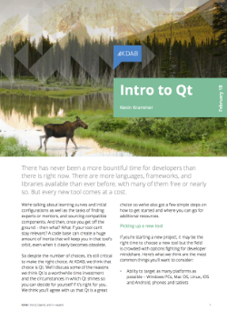 , Intro to Qt