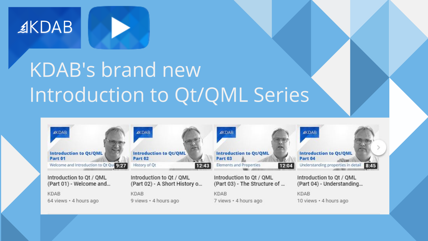Qt/QML introduction series