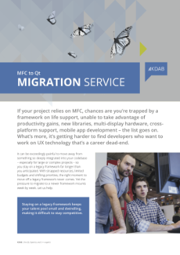 , KDAB and Migrations