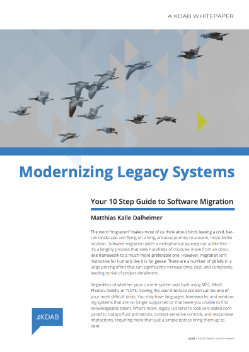 Download Modernizing Legacy Systems whitepaper