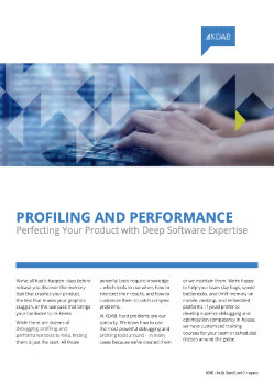 Download Profiling and Performance whitepaper