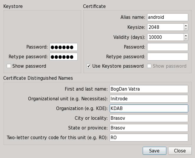 QTC_CreateCertificate