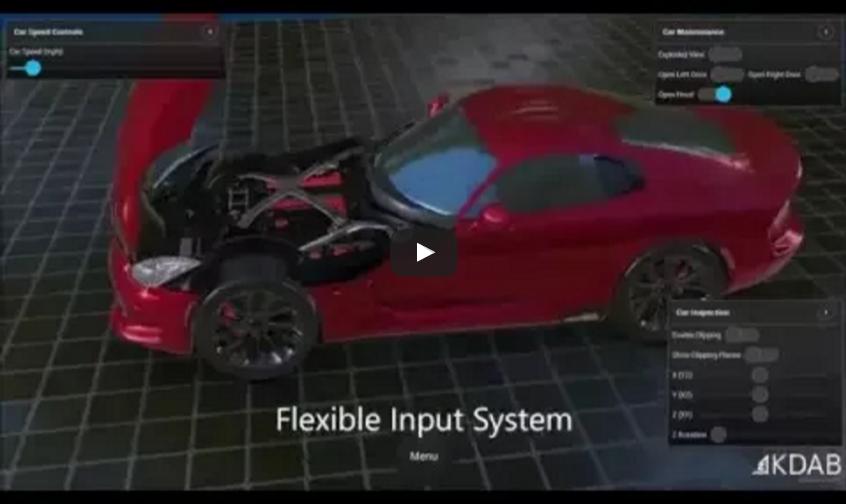 Qt 3D Demo – Dodge Viper 2013 SRT   KDAB