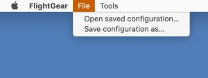 macOS File menu screenshot