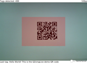 Efficient barcode scanning with QZXing | KDAB
