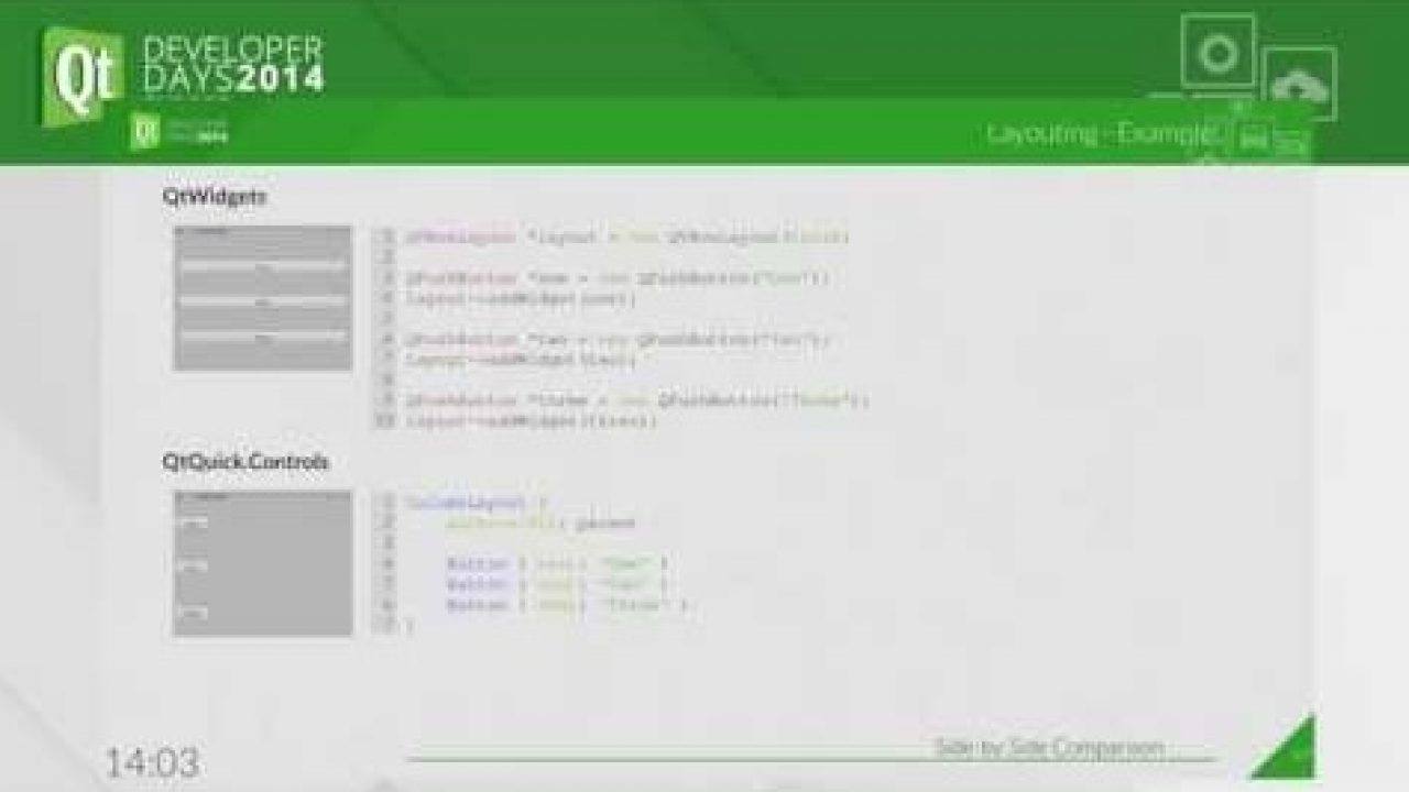 QtWidgets and QtQuick Controls – A Comparison | KDAB