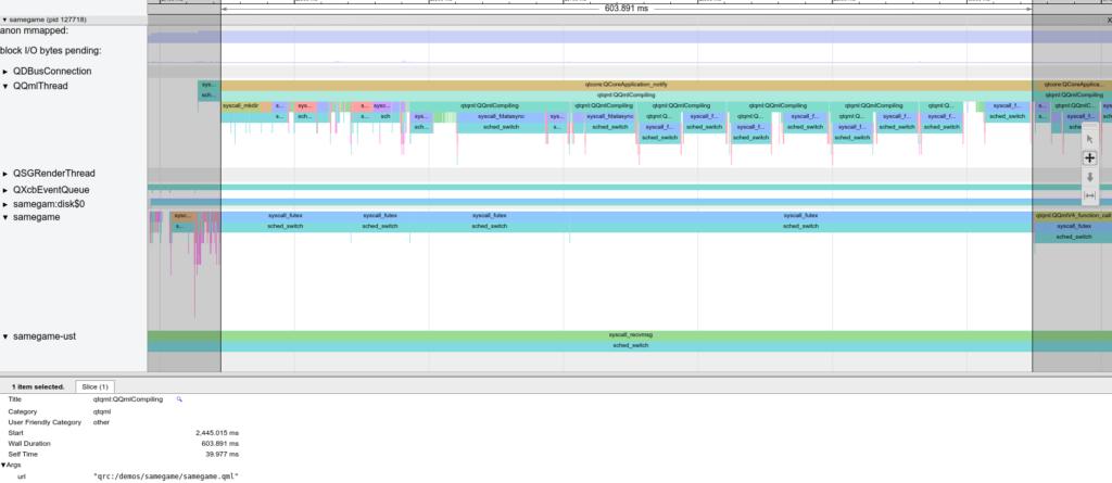 Chrome Tracing Qt QML