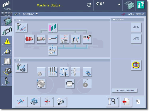 Weaving Machine UI