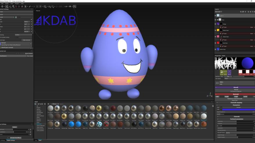 Animation, Qt 3D Animation Easter Teaser