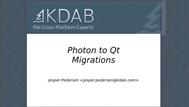 , KDAB Presentation Videos