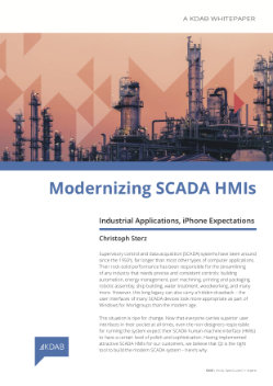 Download Modernizing SCADA HMIs whitepaper